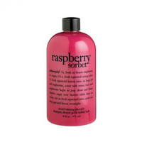 philosophy Raspberry Sorbet Shampoo, Shower Gel & Bubble Bath 480ml/16fl oz