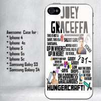 Joey Graceffa Collage Art for iPhone 4/4S/5/5S/5C and Samsung Galaxy S3/S4