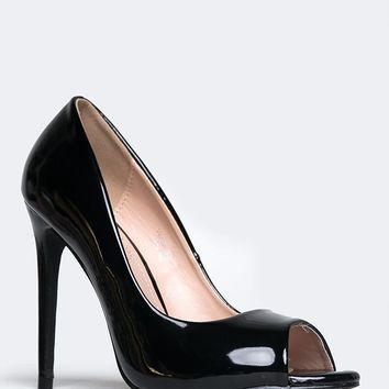 Verse Peep Toe Pumps