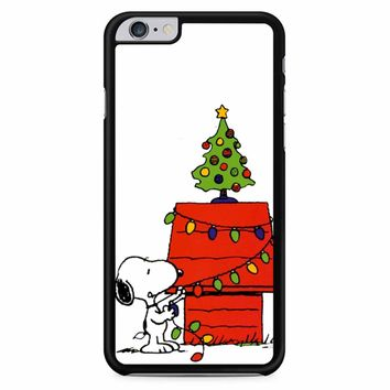 Snoopy Lights Christmas Tree iPhone 6 Plus / 6s Plus Case