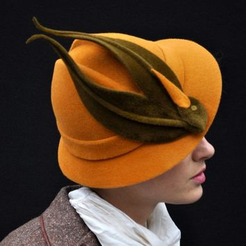 When Birds Were Hats made to order hat by yellowfield7 on Etsy