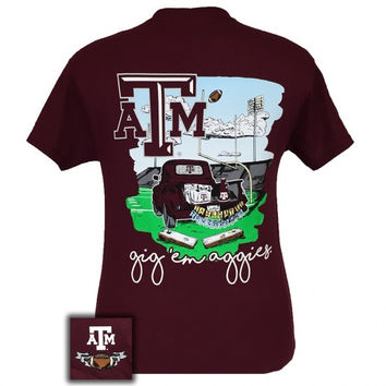Texas A&M Aggies Tailgates & Touchdowns Party T-Shirt