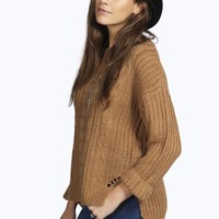 Emily Cable Front Jumper