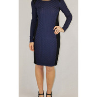 Ivy & Blu navy knit dress