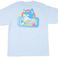 OFWGKTA CARNIVAL BIG TICKET TEE BLUE – Odd Future