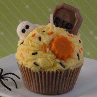 Halloween Cupcake Soy Candle Candy .. on Luulla