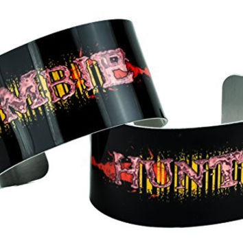 Zombie Hunter Cuff Bracelet Set Metal Design Jewelry