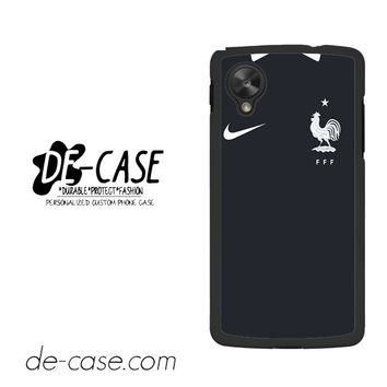 France Soccer Jersey For Google Nexus 5 Case Phone Case Gift Present YO