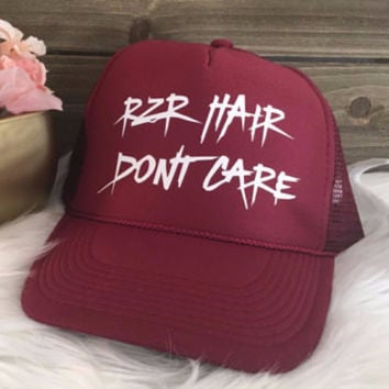 RZR Hair Don't Care Trucker Hat