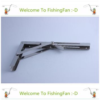 304 Stainless Steel Wall Mounted Folding Table Shelf Support Bracket