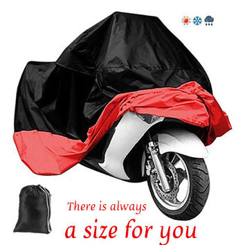 All Size Waterproof Breathable Motorcycle Covers Outdoor Motorcycle Scooter Rain Coat UV Protective Covering for all motorcycle