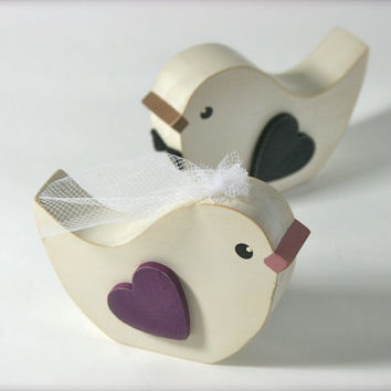 Love Birds Cake Topper Wedding Cake