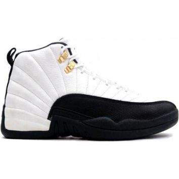 PEAPVX Beauty Ticks Air Jordan 12 Retro 130690-125 White black-taxi 2013 1e9041a2c5