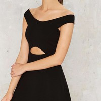 Nasty Gal Uppercut Fit & Flare Dress