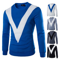 Men's V Design Sweat Shirt