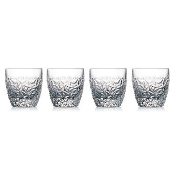 Celebration Crystal Ice Cold 4-pc. Double Old-Fashioned Glass Set (White)