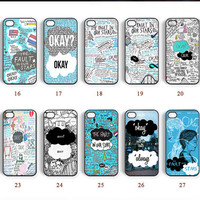 iPhone 5 case, iPhone 4 case, iPhone 5C case, The Fault in Our Stars, Note 2 case, Samsung Galaxy S5 case, Note 3 case--N0088