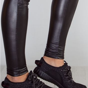Kirsty Black Textured Trainers at misspap.co.uk
