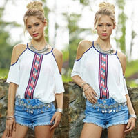 Sexy Women Vest Top Sleeveless Shirt Blouse Summer Casual Ladies Loose Tops 6-16 = 5617060545