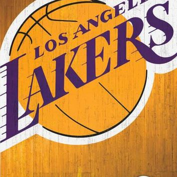 Los Angeles Lakers NBA Basketball Team Poster 22x34