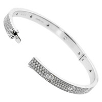 Cartier Diamond Gold Love Bangle bracelet