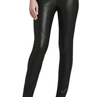 BCBG Maddex Faux-Leather Legging