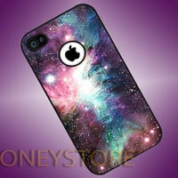 iPhone Galaxy Nebula - Photo Print for iPhone 4/4s, iPhone 5/5C, Samsung S3 i9300, Samsung S4 i9500 Hard Case