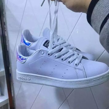 """Adidas Stan Smith"" Unisex Sport Casual Plate Shoes Sneakers Couple Small White Shoes"