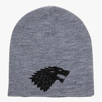 Game Of Thrones Wolf Knit Beanie