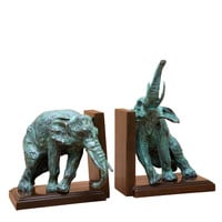 Eichholtz Bookend Lazy Elephant - Set of 2