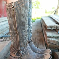 CAVALRY BUCKLE BOOTS - Junk GYpSy co.