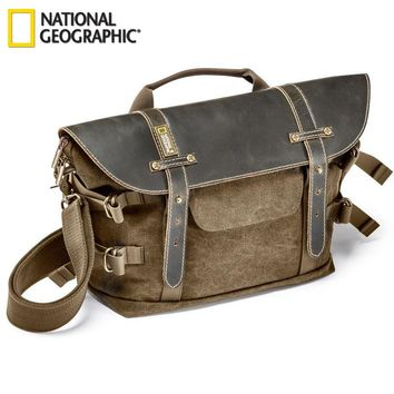 National Geographic Africa Camera Bag Midi Satchel, Brown (NG A2140) For DSLR Kit Outdoor