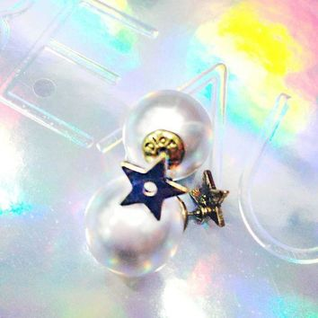 ONETOW Dior pearl earnail  Vintage pearl earnail for three SETS earrings