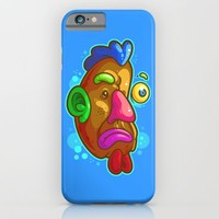 Chicken Tater Head iPhone & iPod Case by Artistic Dyslexia | Society6