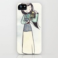 Mulan iPhone & iPod Case by Malipi