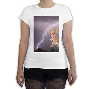 Function - Lightning Cat Women's Fashion T-Shirt