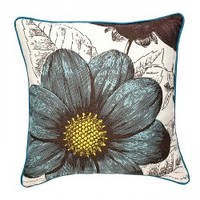 "18"" Botany Pillow AquaThomas Paul"