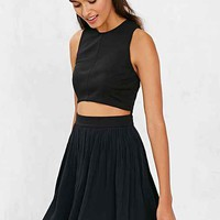 Alice & UO Anna Cropped + Pleated Dress