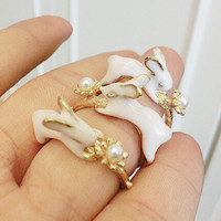 New Arrival Stylish Shiny Jewelry Gift Rabbit Ring [6586161863]