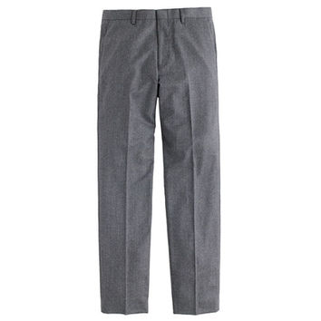 J.Crew Mens Crosby Suit Pant In Heathered Italian Wool Flannel
