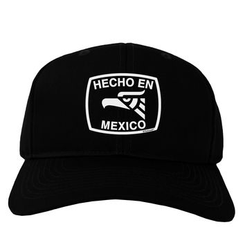 Hecho en Mexico Eagle Symbol with Text Adult Dark Baseball Cap Hat by TooLoud