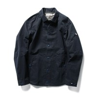 NONNATIVE+PILGRIM COACH JACKET, NAVY