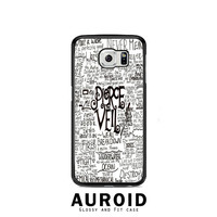 Pierce The Veil Song Lyric Samsung Galaxy S6 Case Auroid