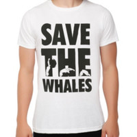 Whaling Save The Whales T-Shirt