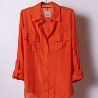 Anthropologie - Emberglow Buttondown