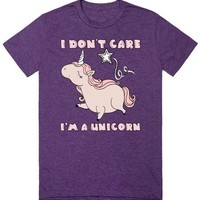 I Don't Care I'm A Unicorn T Shirt