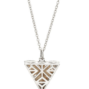 Tri-Point Necklace - Silver