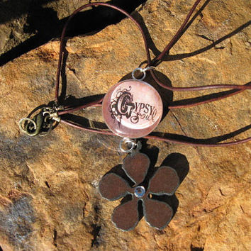 Gypsy Soul -  Leather Necklace