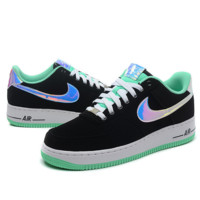 NIKE Women Men Running Sport Casual Shoes Sneakers Air force Low tops Laser