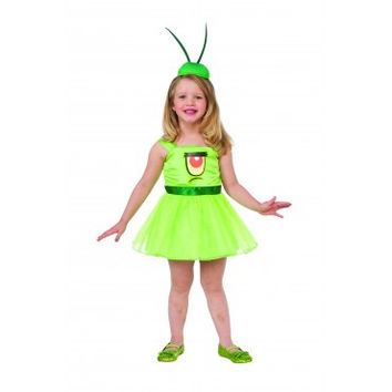 Girls Spongebob Plankton Tutu Costume